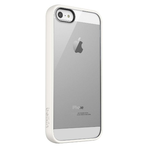 Belkin Cell Phone Case for iPhone®5 - White (F8W153ttC7)
