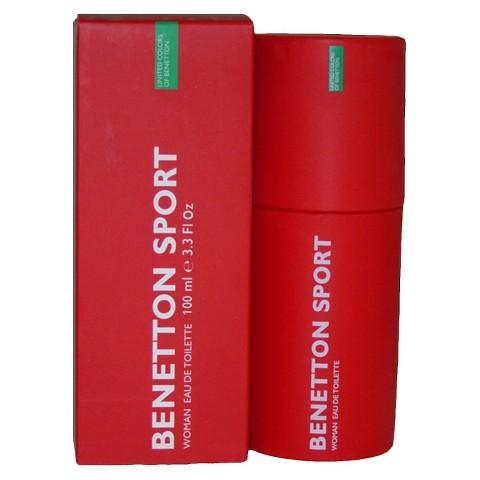 Women's Benetton Sport by United Colors of Benetton Eau de Toilette Spray - 3.3 oz