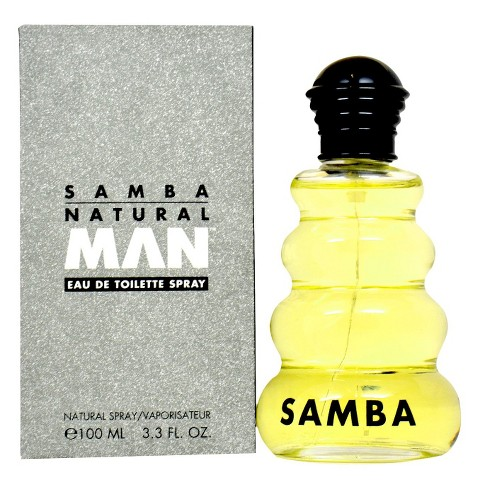 Men's Samba Natural by Perfumer's Workshop Eau de Toilette Spray - 3.4 oz