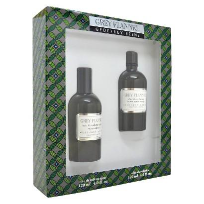 Men's Grey Flannel by Geoffrey Beene 4oz Eau de Toilette Spray, 4oz After Shave Lotion - 2 Pc Gift Set