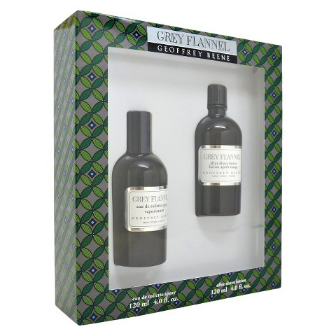 Men's Grey Flannel by Geoffrey Beene 4oz Eau de Toilette Spray, 4oz After Shave Lotion - 2 Pc Gift Set