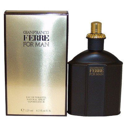 Men's Ferre by Gianfranco Ferre Eau de Toilette Spray - 4.2 oz