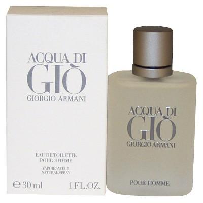 Men's Acqua Di Gio by Giorgio Armani Eau de Toilette Spray - 1 oz
