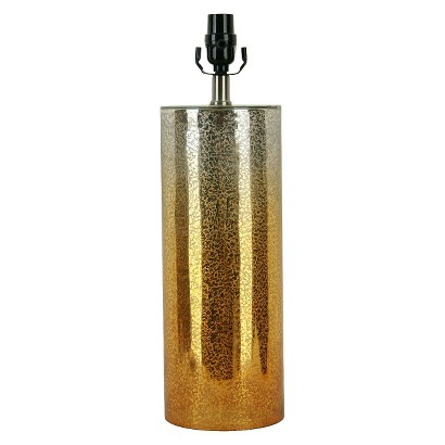 Threshold™ Fire Crackle Mercury Glass Lamp Base