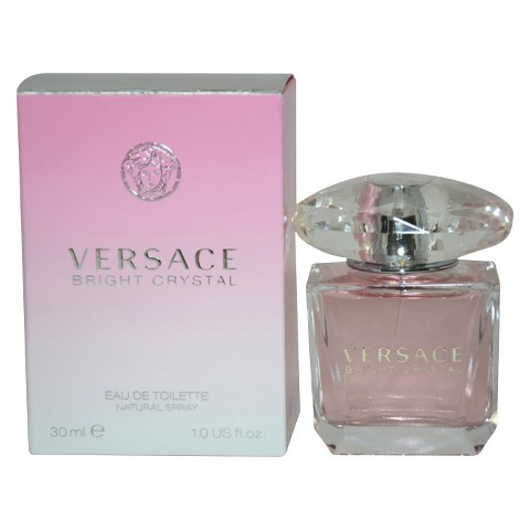 Women's Versace Bright Crystal by Versace Eau de Toilette Spray - 1 oz