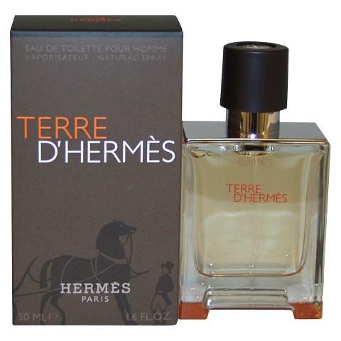 Men's Terre D'Hermes by Hermes Eau de Toilette Spray - 1.6 oz