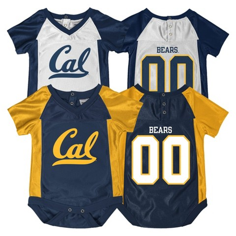 NCAA California Golden Bears Newborn Bodysuit 2-pc. Navy