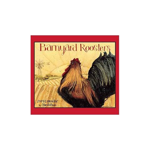 Barnyard Roosters 2014 Calendar