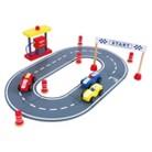 Discoveroo Wooden Car Racing Set
