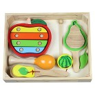 Discoveroo Fruit Music Wooden Percussion Set