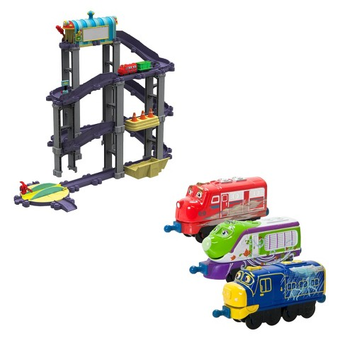 Chuggington StackTrack Wilson's Wild Ride Deluxe Action Play Set