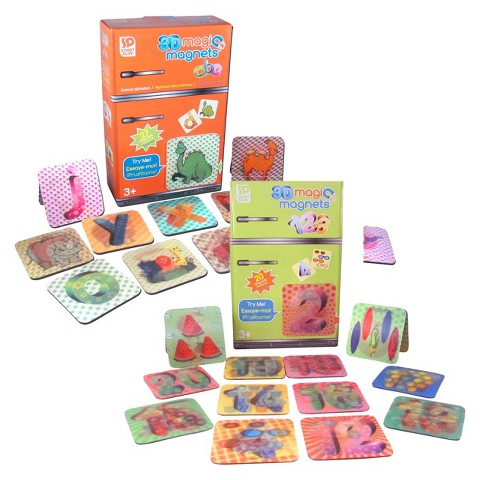 Smart 3D Magic Magnet Set-ABC and 123