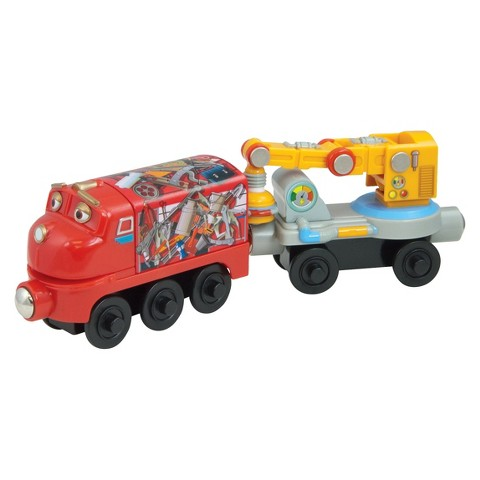 Chuggington Magnetic Wilson with Crane Car 2-Pack
