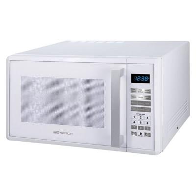 Emerson 1.0 Cu. Ft. 1000 Watt Microwave Oven - White MW1188W