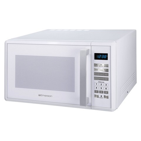 Emerson 1.0 Cu. Ft. 1000 Watt Microwave Oven - White MW1188W product ...