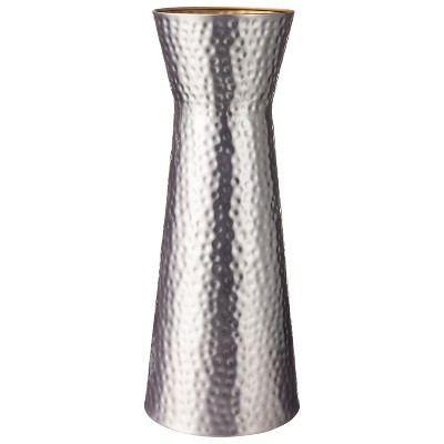 Threshold™ Hammered Metal Floor Vase