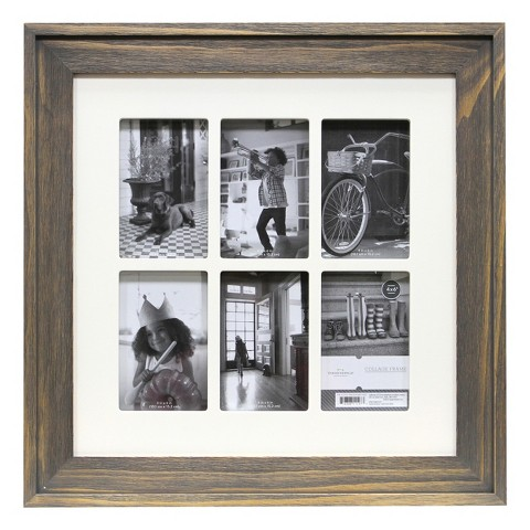 Threshold™ Multiple Image Frame - Grey 4X6