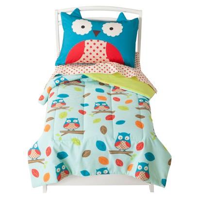 Zoo 4pc. Toddler Bedding Set - Owl