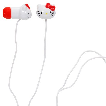 Hello Kitty Camelio Earbuds