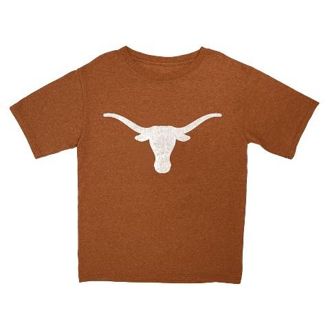 Texas Longhorns Boys Short-Sleeve Tee - Burnt Orange
