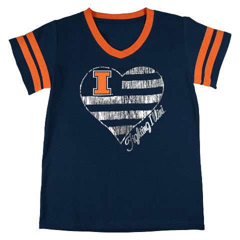 Illinois Fighting Illini Girls Tunic- Navy