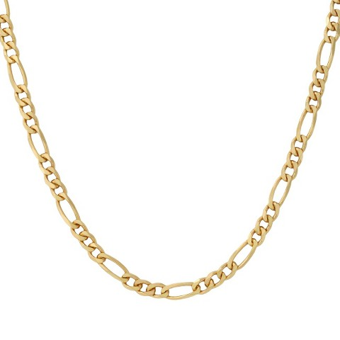 Bronze Figaro Necklace - Gold