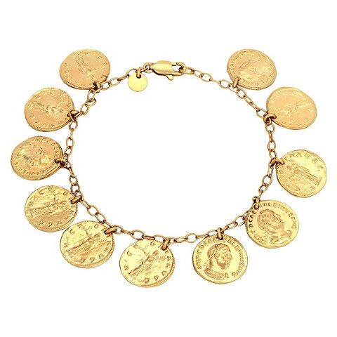 Coins Bracelet - Gold
