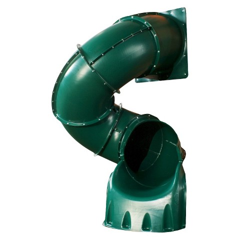 Swing-N-Slide 5' Turbo Tube Slide- Green