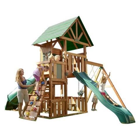 Swing-N-Slide Southampton Wooden Complete Play Set