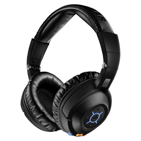 Sennheiser Around-the-Ear Wireless Travel Headphones - Black (MM550X)