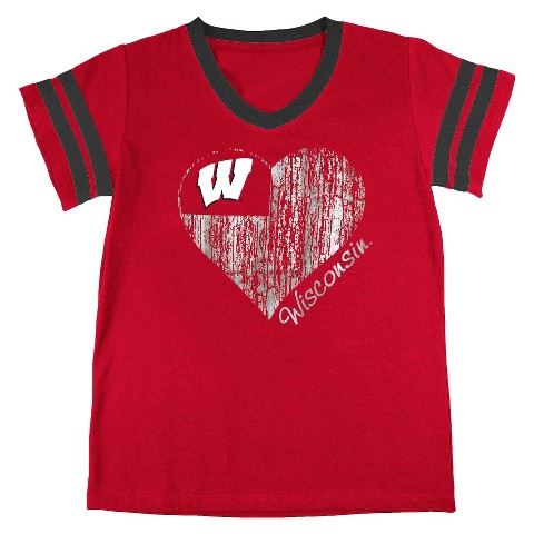 Wisconsin Badgers Girls Tunic- Red
