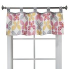 Sumersault Ikat Butterfly Valance