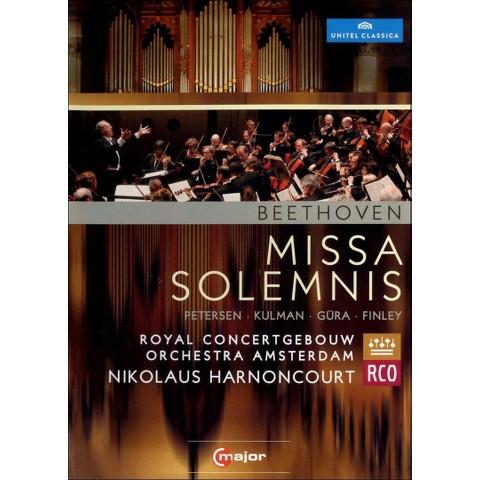 Royal Concertgebouw Orchestra Amsterdam/Nikolaus Harnoncourt: Beethoven - Missa Solemnis (Widescreen)