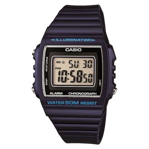 Casio Women's Digital Watch - Blue - W215H-2A