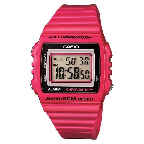 Casio Women's Digital Watch - Pink - W215H-4A