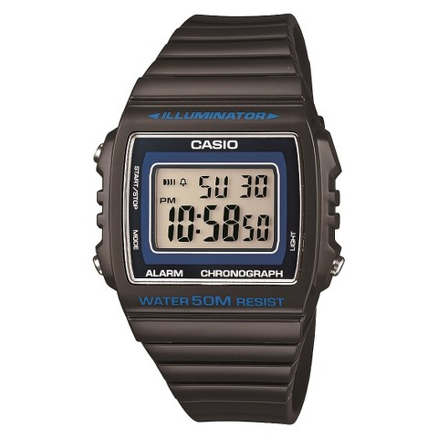 Casio Women's Digital Watch - Grey - W215H-8A