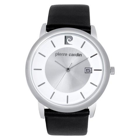 Men's Pierre Cardin Strap Watch - Black