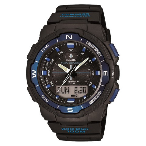 Casio Men's Compass Watch - Blue (SGW500H-2BV)