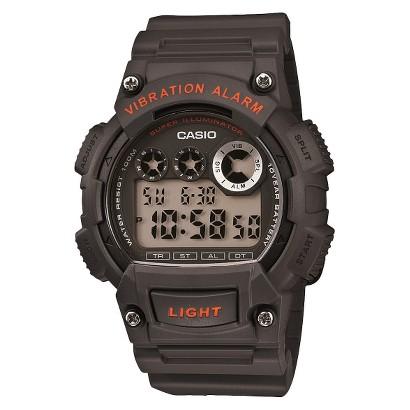 Casio Men's Digital Strap Watch - Grey - W735H-8AVCF