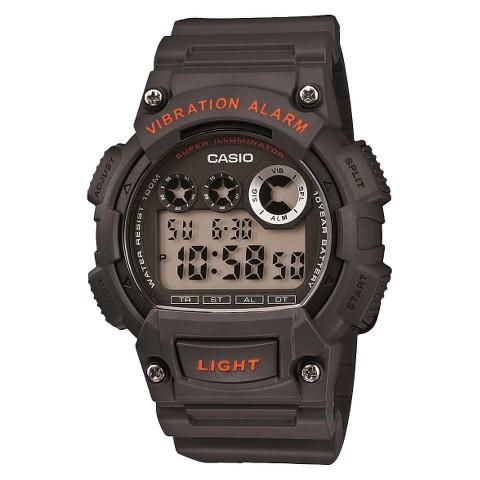 Men's Casio Digital Strap Watch - Gray