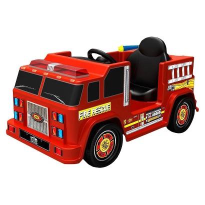 Kid Motorz Fire Engine 6V Ride On