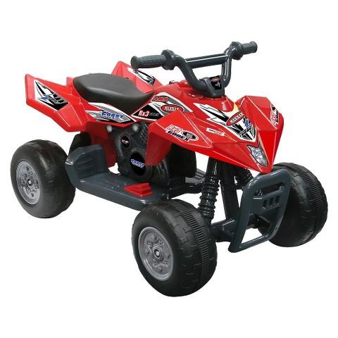 Kid Motorz Quad Racer 6V Ride On - Red