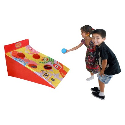 "Yo Gabba Gabba 3 in 1 Sports Center - Yellow/ Red (42"" x 28"" x 24"")"