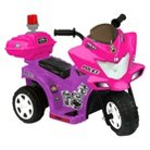 Kid Motorz Lil Patrol 6V Ride On - Pink/Purple