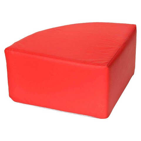 foamnasium™ Corner Table Play Furniture - Red