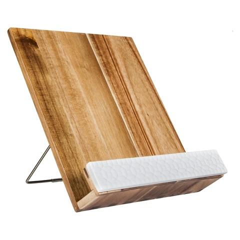 Threshold™ Acacia Wood Cookbook Holder