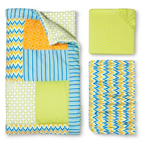 Trend Lab Levi 3pc Crib Bedding Set