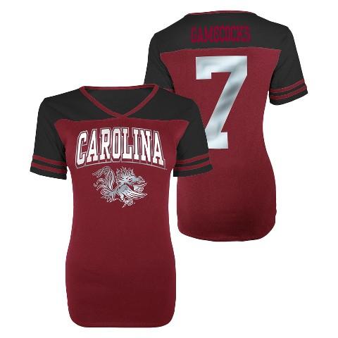 Juniors' South Carolina Gamecocks V-Neck Shirt - Red