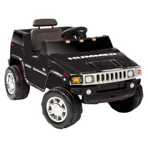 Kid Motorz Hummer H2 6V Ride On - Black