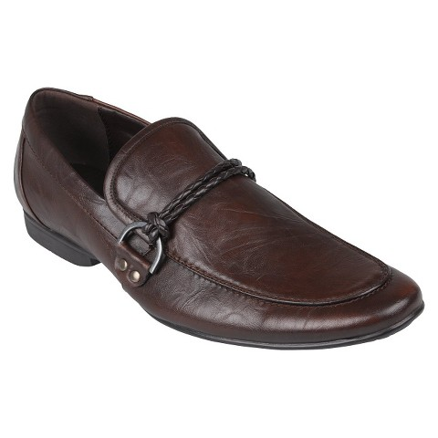 Men's Boston Traveler Almond Toe Slip-on Loafers - Brown